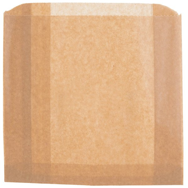 """Lavex Janitorial 8 3/4"""" x 2 3/4"""" x 8"""" Sanitary Napkin Receptacle Bags - 50/Pack Main Image 1"""