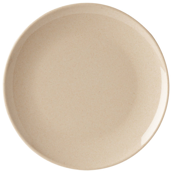 """GET BAM-12075 BambooMel 10 1/2"""" Round Plate - 12/Case"""