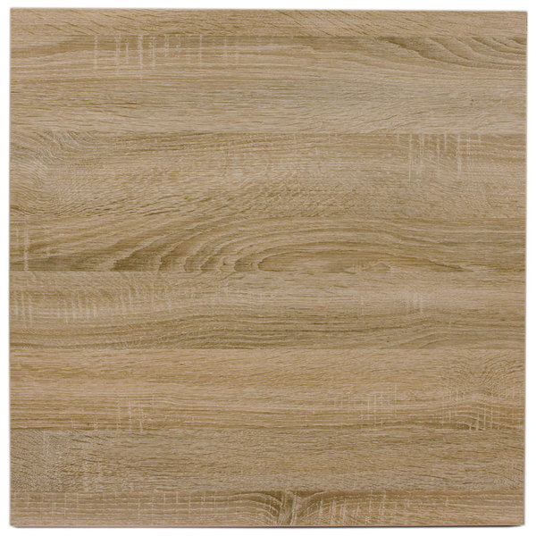 "BFM Seating SO3636 Midtown 36"" Square Indoor Tabletop - Sawmill Oak Finish"