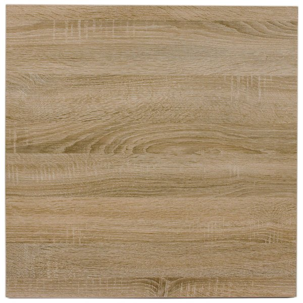 "BFM Seating SO3636 Midtown 36"" Square Indoor Tabletop - Sawmill Oak Finish Main Image 1"