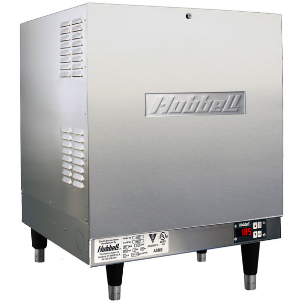 Hubbell J1640T4 16 Gallon Booster Heater - 40.5kW, 480V, Three Phase Main Image 1
