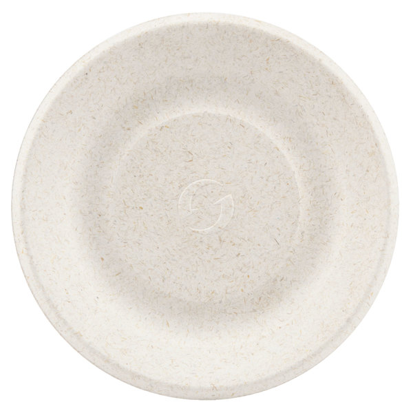 Green Wave Ovation Sugarcane / Bagasse OV-P006 6 inch Biodegradable and Compostable Premium Plate  sc 1 st  WebstaurantStore & Green Wave Ovation Sugarcane / Bagasse OV-P006 6