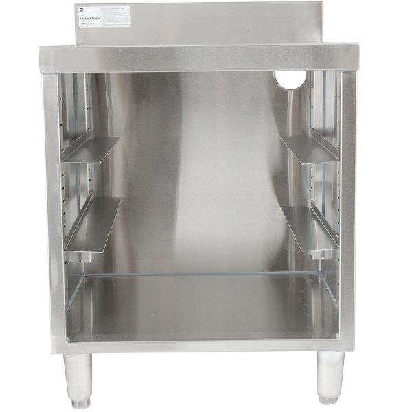 Advance Tabco CRCR-24-CT Corrugated Top Glass Rack Storage Unit