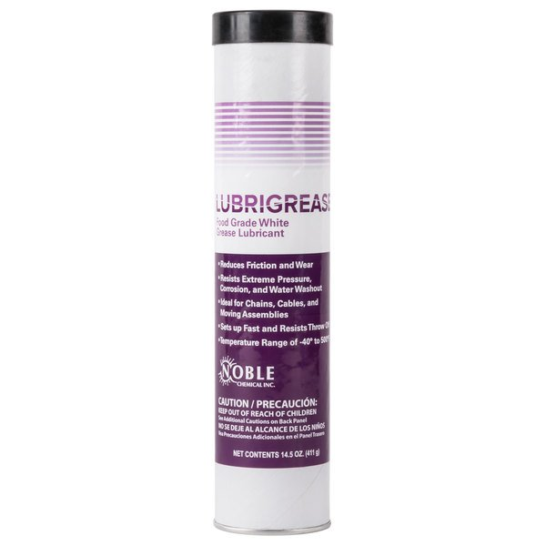 Noble Chemical 14.5 oz. LubriGrease Food Grade White Grease Cartridge