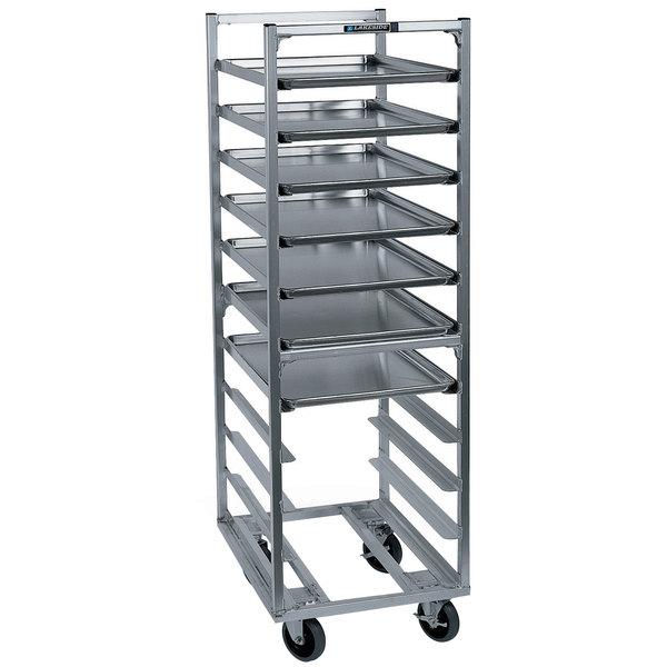 Lakeside 8528 11 Pan End Load Aluminum Bun / Sheet Pan Rack - Assembled Main Image 1