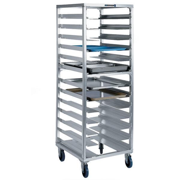 Lakeside 8535 13 Pan End Load Aluminum Bun / Sheet Pan Rack - Assembled
