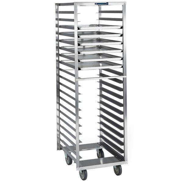 Lakeside 173 20 Pan End Load Stainless Steel Bun / Sheet Pan Rack - Assembled
