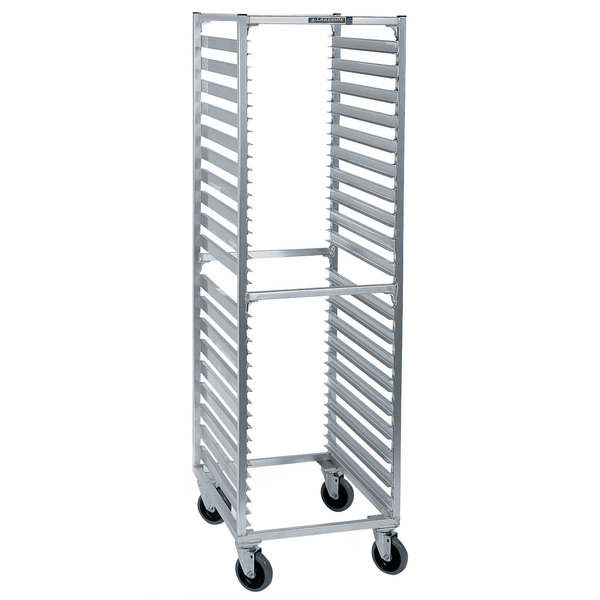 Lakeside 8559 38 Pan End Load Aluminum Bun / Sheet Pan Rack - Assembled