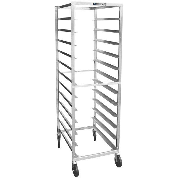 Lakeside 157 7 Pan End Load Stainless Steel Bun / Sheet Pan Rack - Assembled
