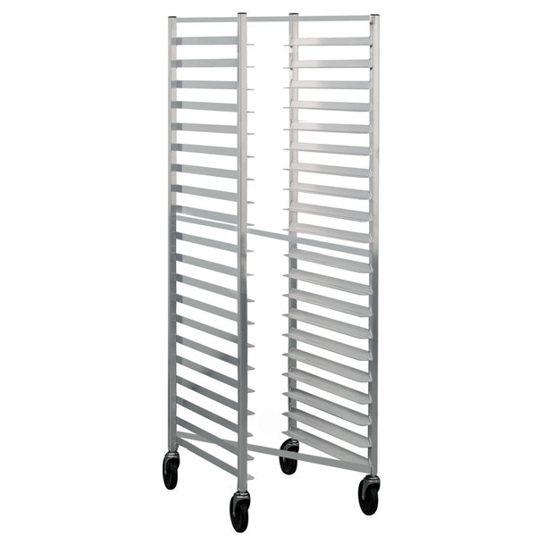 Lakeside 8521 20 Pan End Load Nesting Aluminum Bun / Sheet Pan Rack - Assembled Main Image 1