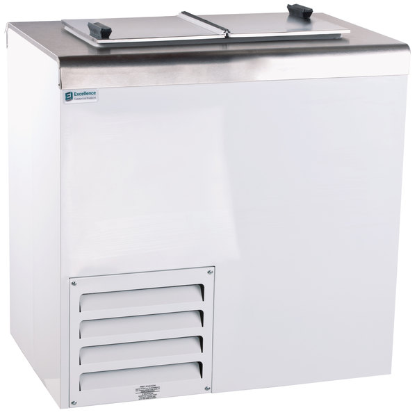"Excellence HFF-2HC 32"" Flip Lid Ice Cream Dipping Cabinet"