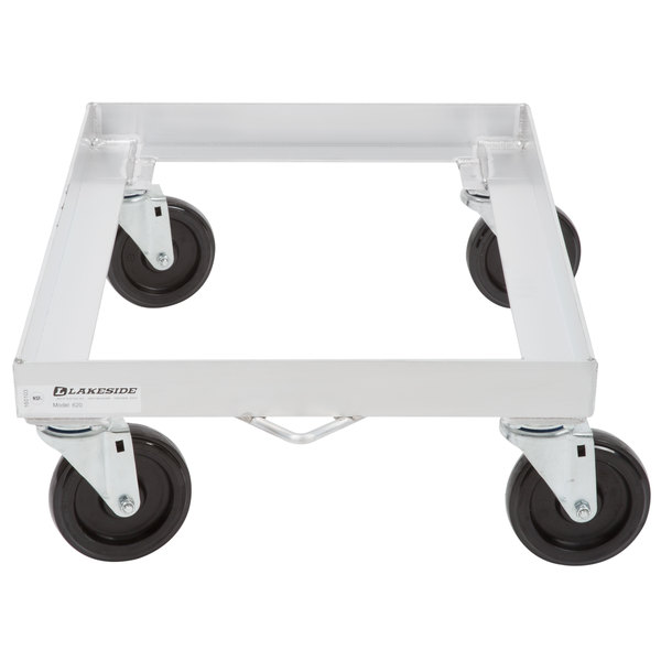 "Lakeside 620 Aluminum Sheet Pan Dolly with 5"" Casters"