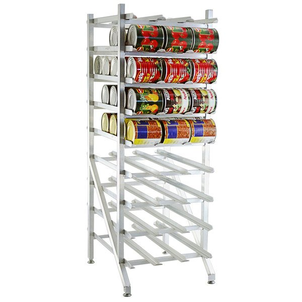 Lakeside 335 Aluminum Mobile #10 Can Rack - Full Size