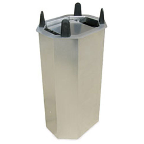 """Lakeside V5010 Unheated Shielded Oval Drop-In Dish Dispenser for 6 3/4"""" x 9 3/4"""" to 7 3/4"""" x 10 1/2"""" Dishes"""