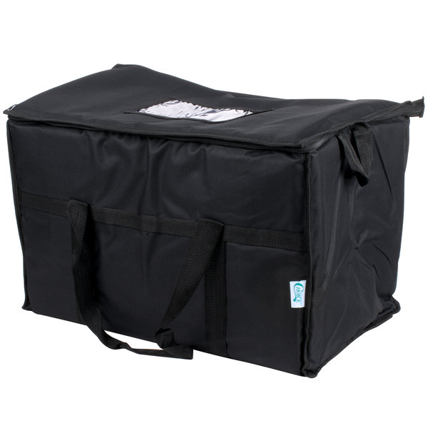 583fa7c5f51 This Choice insulated black cooler bag is perfect for your next outdoor  gathering or tailgate party!