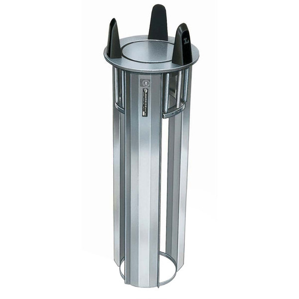 """Lakeside 4009 Unheated Open Drop-In Dish Dispenser for 8 1/4"""" to 9 1/8"""" Dishes Main Image 1"""
