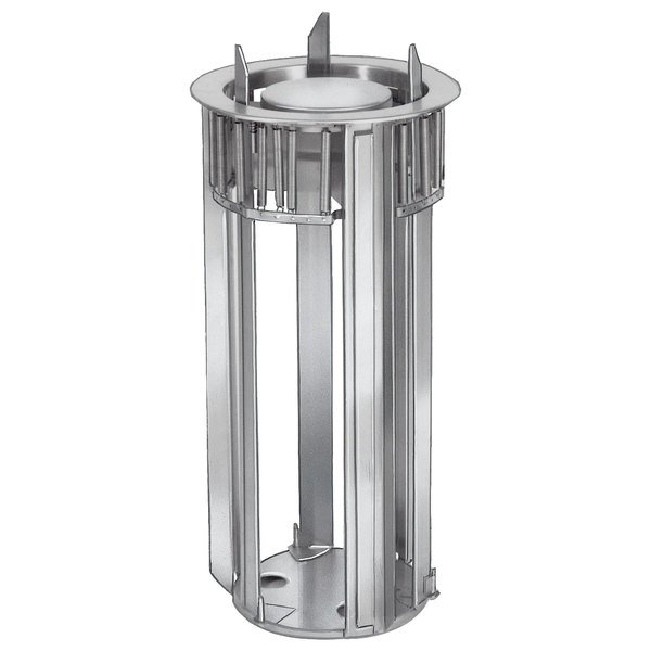 """Lakeside 932 Unheated Open Drop-In Dish Dispenser for 8 3/4"""" to 12"""" Dishes Main Image 1"""