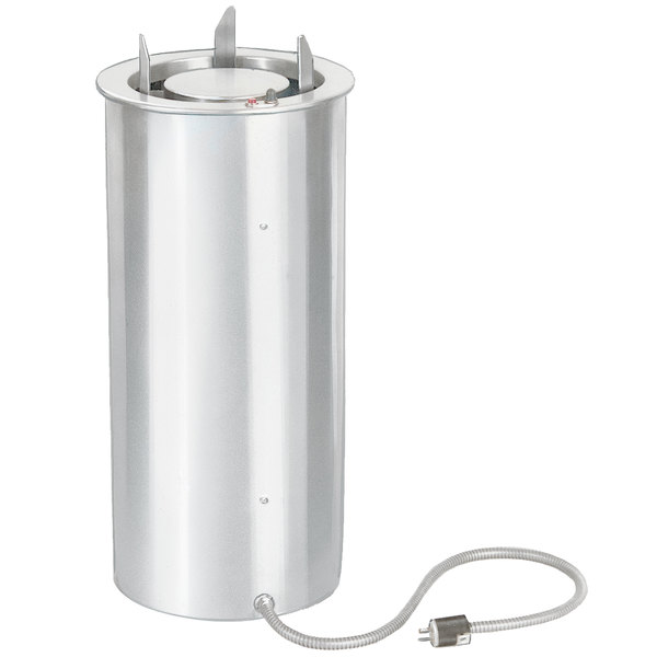 """Lakeside 924 Shielded and Heated Drop-In Dish Dispenser for 6 1/2"""" to 9 3/4"""" Dishes"""
