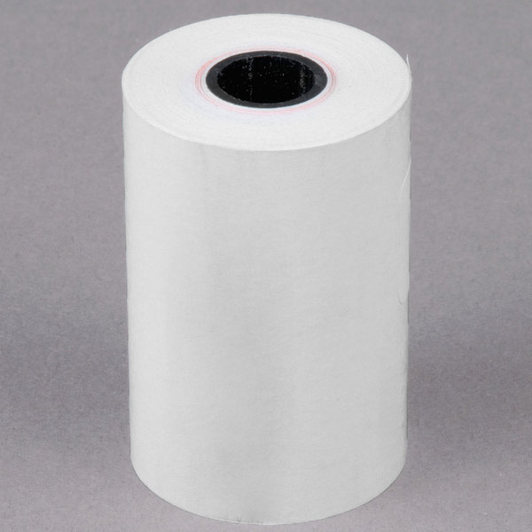 "2 1/4"" x 60' Thermal Cash Register POS Paper Roll Tape - 50/Case"