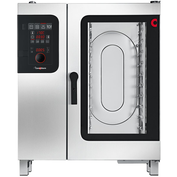 Convotherm C4ED10.10GS Liquid Propane Half Size Boilerless Combi Oven with easyDial Controls - 68,200 BTU