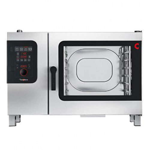 Convotherm C4ED6.20GS Boilerless Liquid Propane Combi Oven with easyDial Controls - 68,200 BTU