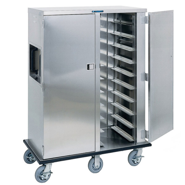 Lakeside 6910 Premier Series Stainless Steel Tray Cart - 10 Tray Capacity Main Image 1