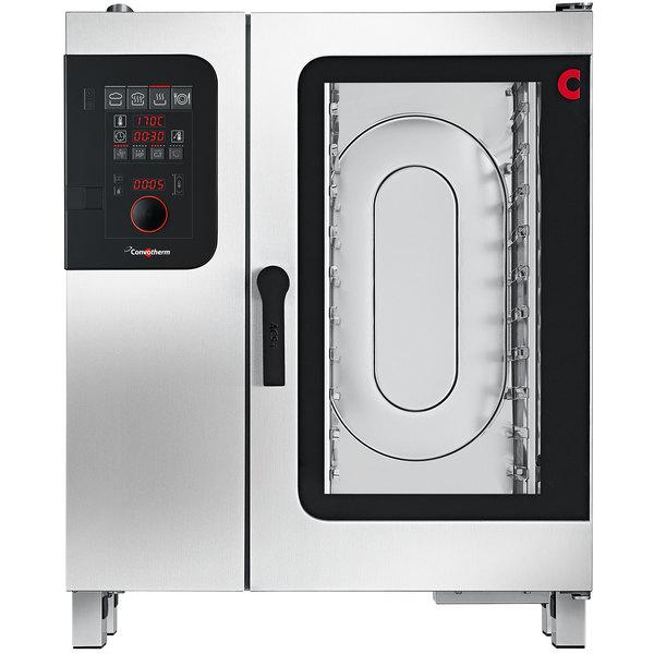 Convotherm C4ED10.10GB Liquid Propane Half Size Combi Oven with easyDial Controls - 129,700 BTU
