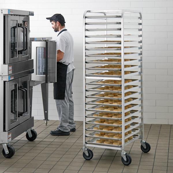 Advance Tabco PR20-3W 20 Pan End Load Bun / Sheet Pan Rack - Assembled Main Image 4