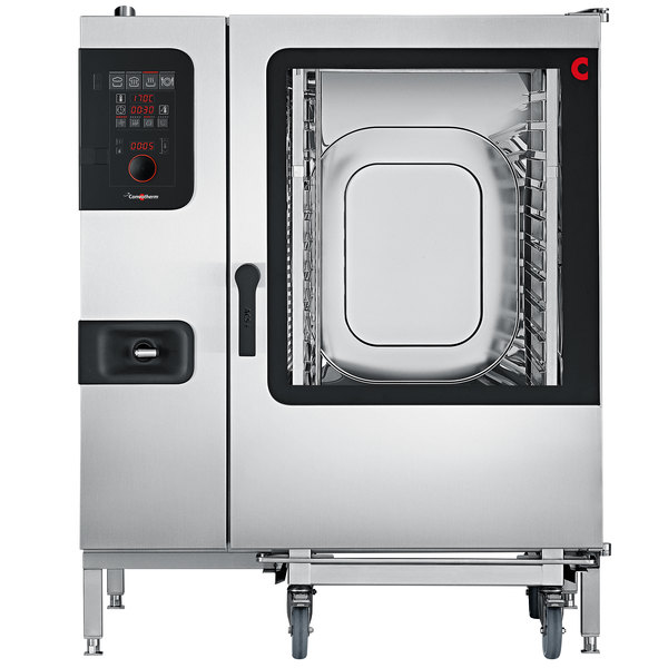 Convotherm C4ED12.20ES Full Size Roll-In Boilerless Electric Combi Oven with easyDial Controls - 208V, 3 Phase, 33.4 kW Main Image 1