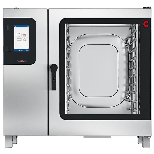Convotherm C4ET10.20GS Liquid Propane Full Size Boilerless Combi Oven with easyTouch Controls - 109,200 BTU Main Image 1