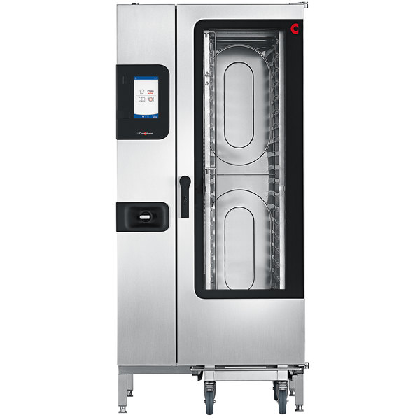 Convotherm C4ET20.10GB Natural Gas Half Size Roll-In Combi Oven with easyTouch Controls - 238,500 BTU Main Image 1