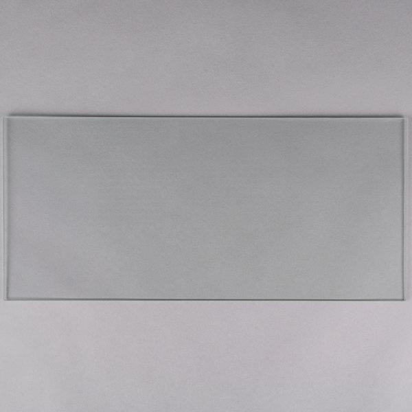 "Avantco HDSP4S 17 3/4"" x 8"" Glass Panel Main Image 1"