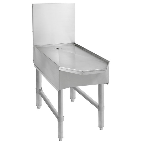 """Advance Tabco SCFD-30 Stainless Steel Frozen Drink Machine Stand - 30"""" x 28"""""""