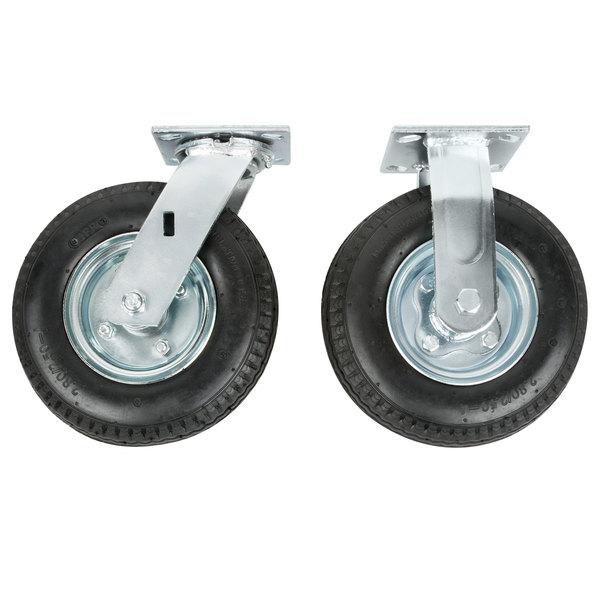 negro Rubbermaid Commercial Products FG450558 Mesilla auxiliar con ruedas tama/ño peque/ño