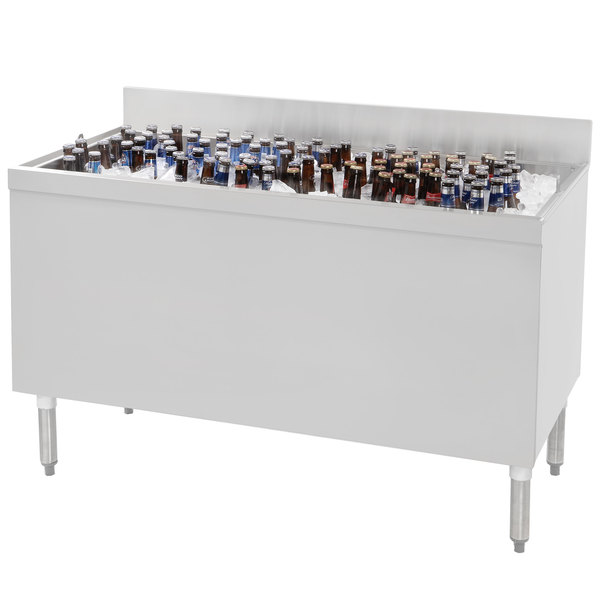 "Advance Tabco CRBB-60 Stainless Steel Beer Box - 60"" x 24"" Main Image 1"