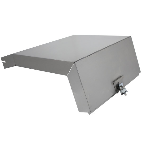 Advance Tabco LC-2124 Stainless Steel Liquor Display Rack Cover Main Image 1
