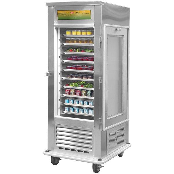 Alluserv AC10 Reach In Solid Door Air Curtain Refrigerator Main Image 1