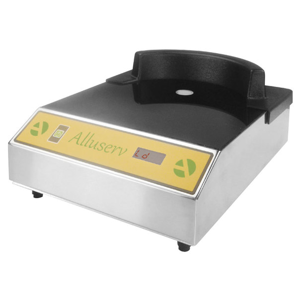 Alluserv AIPH1 Single Countertop Induction Plate Warmer - 120V, 900W