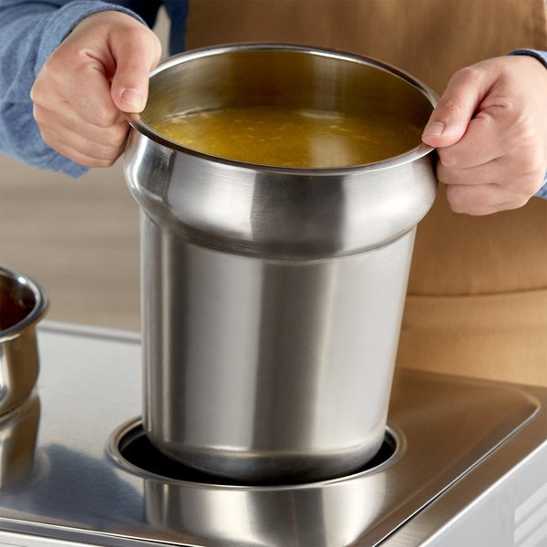 4 Qt. Stainless Steel Inset Main Image 2