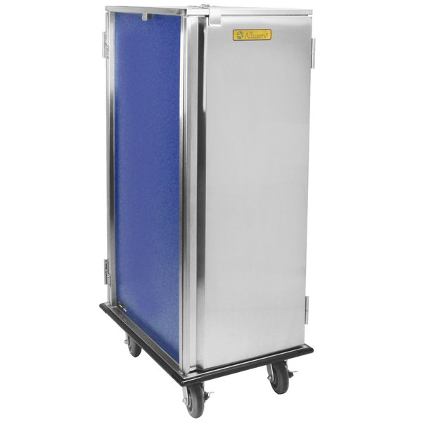 Alluserv TDC20 Choice Stainless Steel 20 Tray Meal Delivery Cart