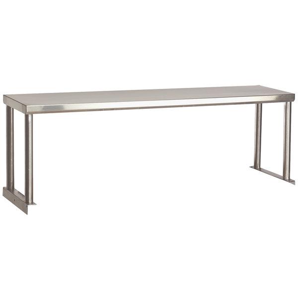"Advance Tabco STOS-2 Stainless Steel Single Overshelf - 12"" x 31 13/16"" Main Image 1"