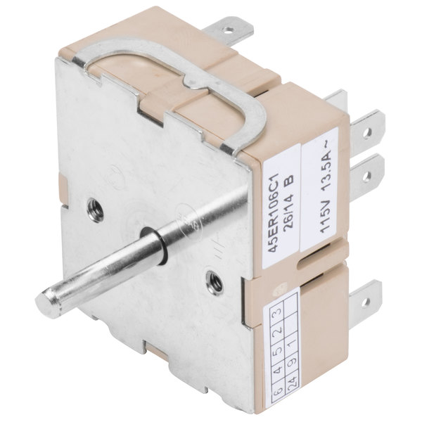 Avantco PRGTHERM Replacement Thermostat for Hot Dog Roller Grills - 115V, 13.5A