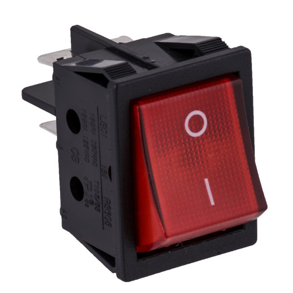 Grand Slam PHDRGSWTH Replacement On / Off Rocker Switch for HDRG12 and  HDRG24 Hot Dog Roller Grills