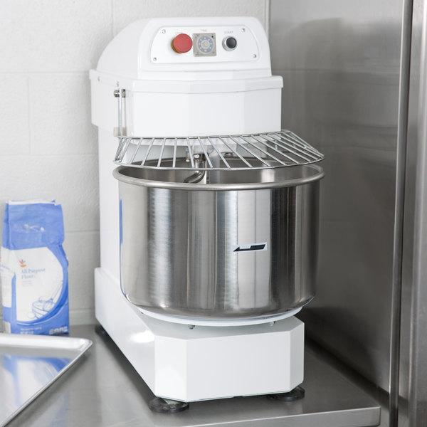 Eurodib LM30T 30 Qt. / 26.5 lb. Single Speed Spiral Dough Mixer - 120V, 3.5 HP Main Image 5