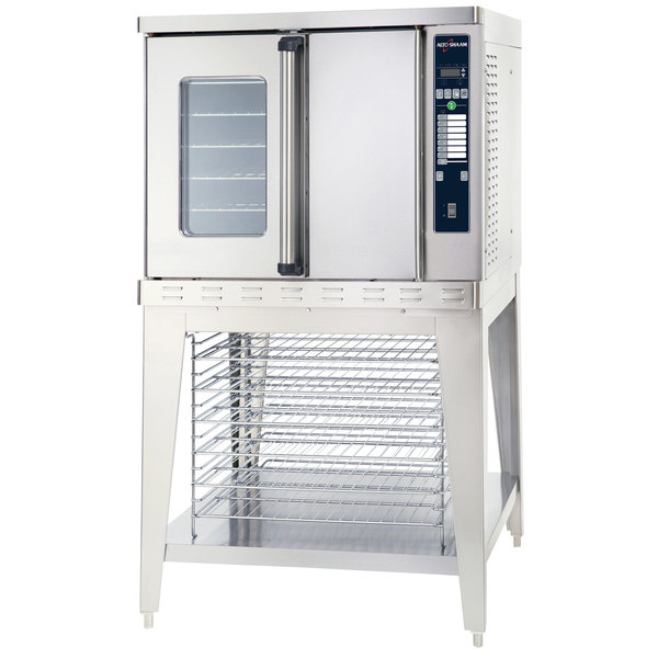Alto-Shaam ASC-4E/E Platinum Series Full Size Electric Convection Oven with Electronic Controls - 240V, 3 Phase, 10400W