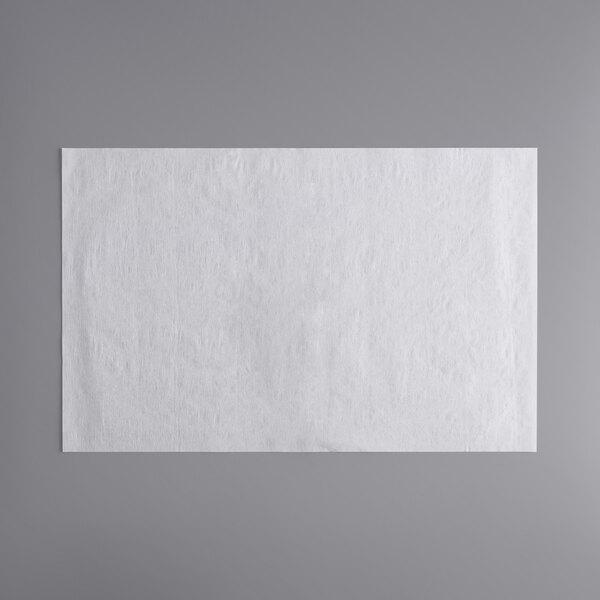 "FMP 168-1418 22"" x 34"" Fryer Oil Filter Paper Sheets - 100/Case Main Image 1"