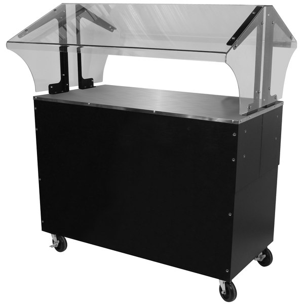 Advance Tabco B3-STU-B-SB Everyday Buffet Solid Top Table with Enclosed Base