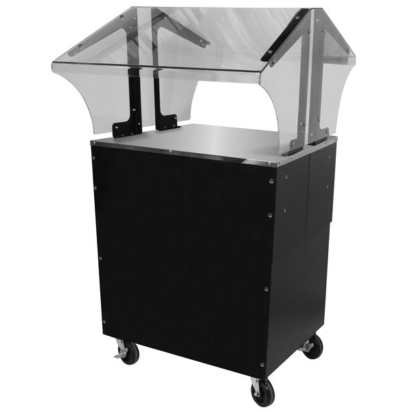 Advance Tabco B2-STU-B-SB Everyday Buffet Solid Top Table with Enclosed Base Main Image 1