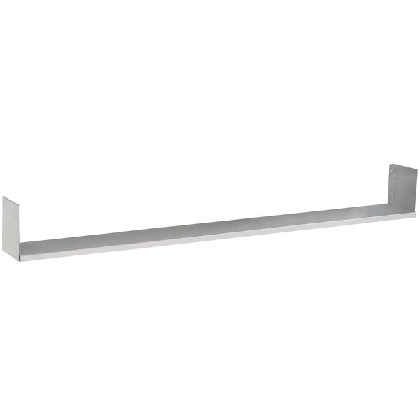"Advance Tabco TDS-5 Dish Shelf - 77 3/4"" x 7"""