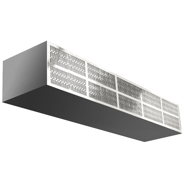 "Curtron E-CFD-72-2 72"" Commercial Front Door Air Curtain with Electric Heater - 240V, 3 Phase"